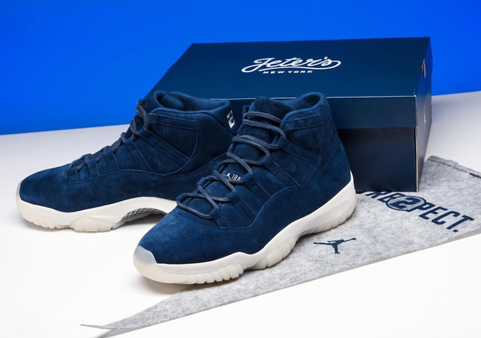 Back in May, Jordan Brand honored Derek Jeter with a special pair of Air  Jordan 11s in commemoration of his retirement ceremony at Yankee Stadium.