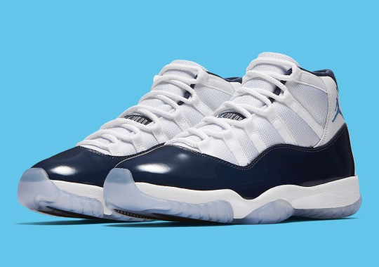 "Official Images Of The Air Jordan 11 ""Win Like '82"""