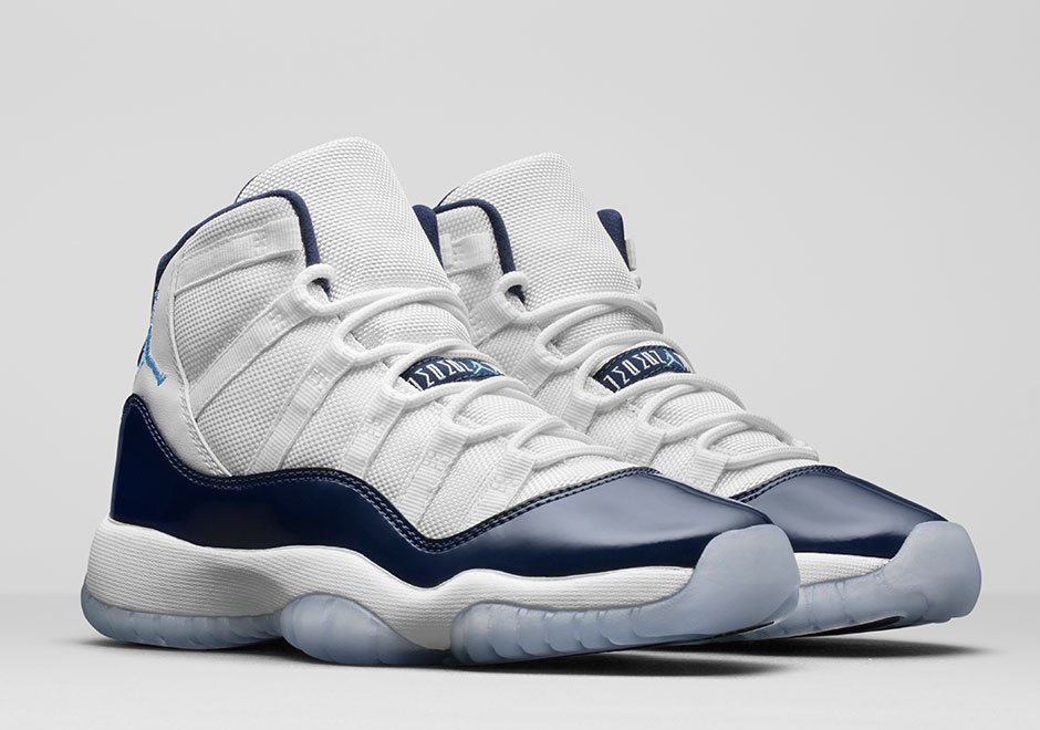 "AIR JORDAN 11 ""WIN LIKE '82"" Release Date: NOVEMBER 11TH, 2017 $220. Style  Code: 378037-123. Style Code: 378038-123 (GS) Style Code: 378039-123 (PS)"