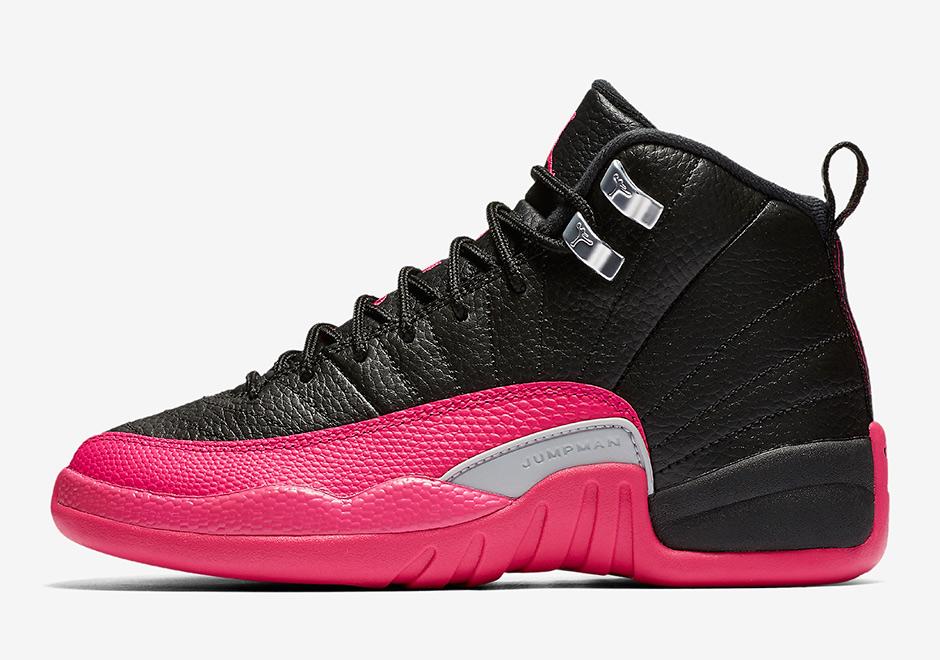 6edc7f7796b5 Jordan 12 Deadly Pink Bordeaux Release Date Info Kids