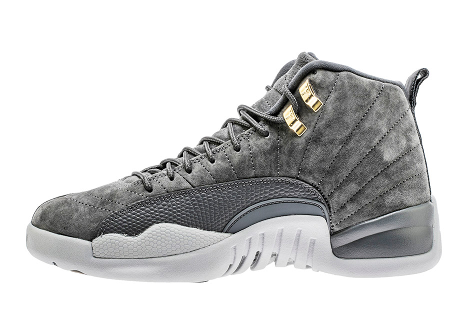 "c27a242de427 Up Close With The Air Jordan 12 Retro ""Dark Grey"""