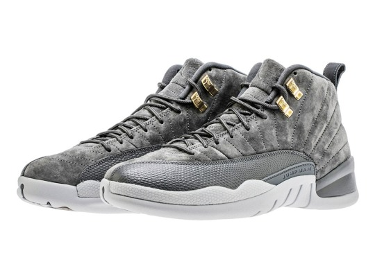 "Up Close With The Air Jordan 12 Retro ""Dark Grey"""