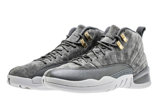 "Up Close With The Air Jordan 12 Retro ""Dark Grey"""