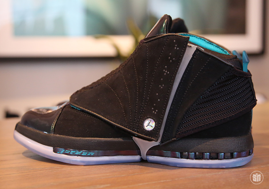 The Air Jordan XVI, originally releasing in 2001, is making yet another Retro comeback next week. With direct reference to the Air Jordans of the past (Air ...