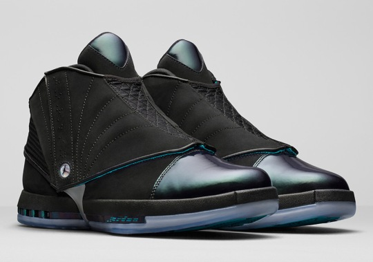 """The Hornets-Inspired Air Jordan 16 """"CEO"""" Is Limited To 2,300 Pairs"""