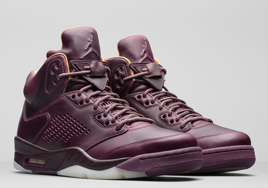 "Air Jordan 5 Premium ""Bordeaux"" Releases On December 14th"