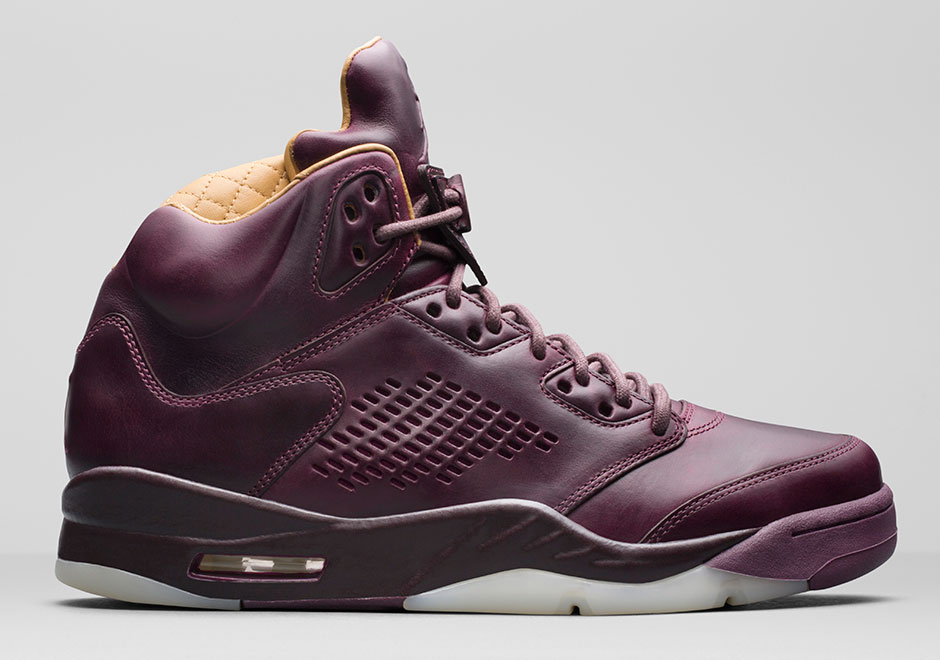 "new concept 74ad4 c3a76 Air Jordan 5 Premium ""Bordeaux"" Releases On December 14th"