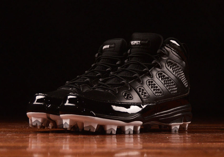 "Air Jordan 9 ""RE2PECT"" Cleats Are Available Now"