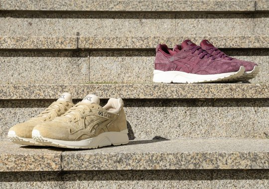 ASICS Adds Tonal Suedes To The GEL-Lyte V