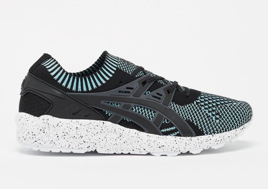 Teal Tones Hit The ASICS GEL-Kayano Trainer Knit