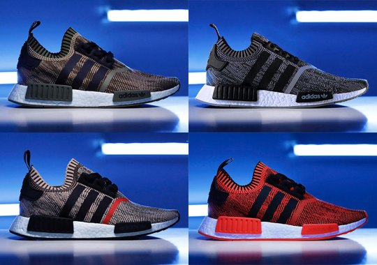 "The adidas NMD R1 ""A.I. Camo"" Pack Is Limited To 900 Pairs Each"
