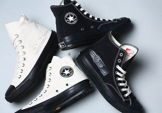 COMME des Garcons And Converse Collaborate On Black & White Chuck Taylors