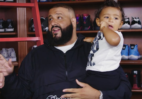 DJ Khaled Is Trying To Build The Biggest Sneaker Collection In The World For His Son Asahd