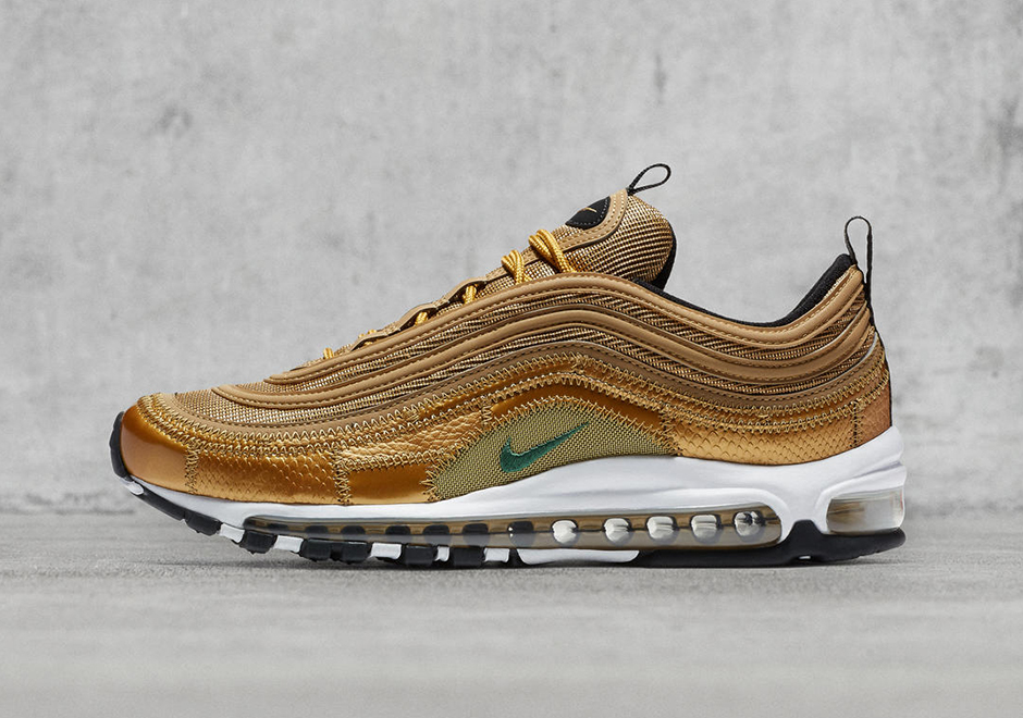 Cristiano Ronaldo Nike Air Max 97 CR7 Gold Patch