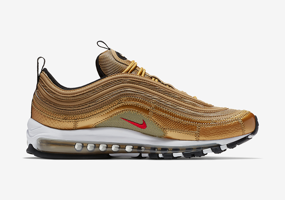 best website 74bf2 b417a Shop this Article  Femme Nike Air Max 97 Or Chaussures Nike France - Nike  Air Max 97 Taille 9.5 or olympique 312641-700