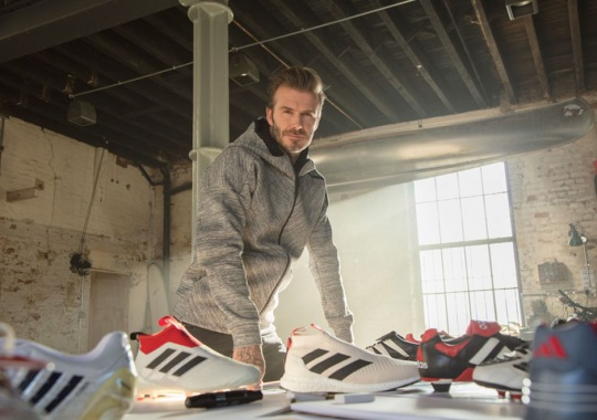 Soccer Legend David Beckham Has Another adidas Predator Accelerator Collection