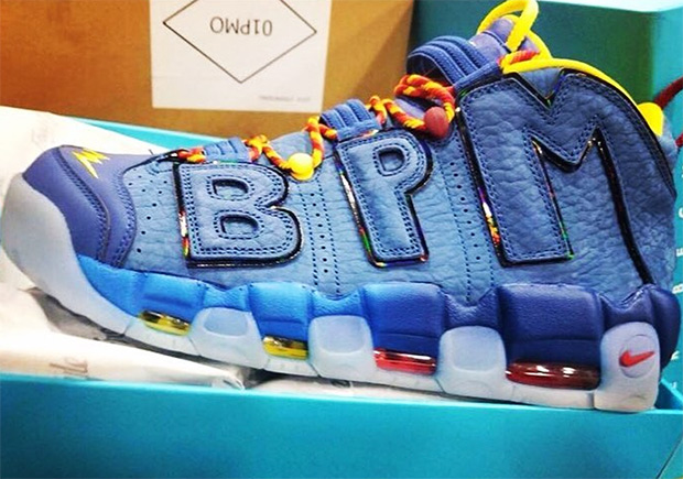 wholesale dealer f5eb1 eb276 A first peek at this years Nike Doernbecher Freestyle is here, and it  comes in the form of this creative design of the Nike Air More Uptempo by  Brody ...