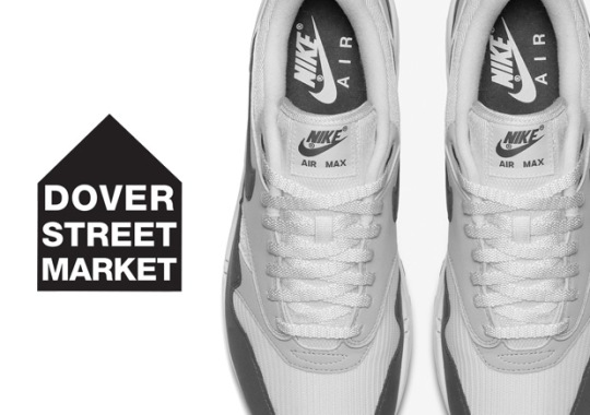 Dover Street Market x Nike Air Max 1 In Three Colorways Is Coming Soon