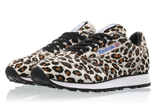 Head Porter And Reebok Walk On The Wild Side For Leopard Print Classic Leather