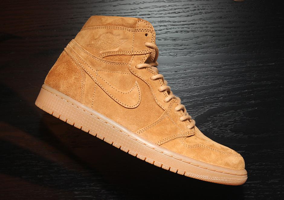 wheat jordan shoes