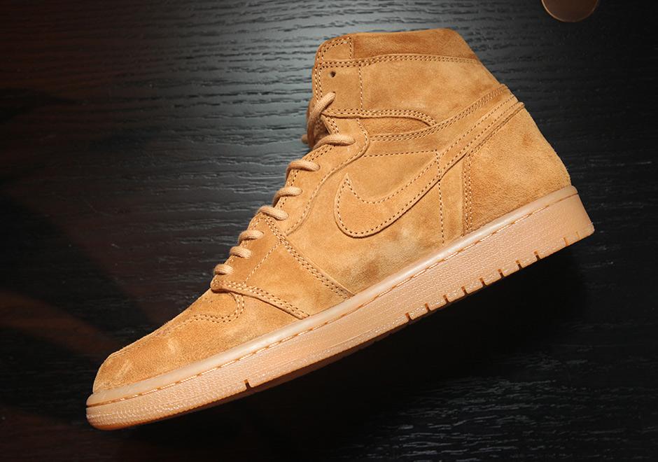 "ac0adb667b10 Air Jordan 1 High ""Wheat"" Release Date  November 25th"