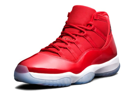 "pretty nice c3b80 344f2 Official Images Of The Air Jordan 11 ""Win Like  96"""