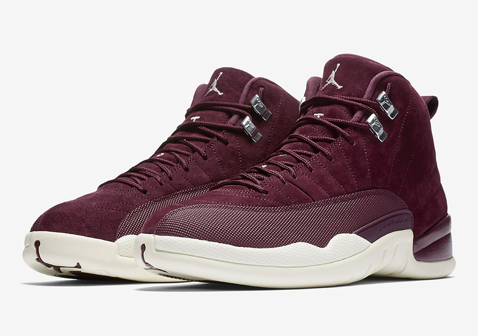 "d9ce255ddeec The Air Jordan 12 ""Bordeaux"" officially releases tomorrow on Nike.com and  select Jordan Brand retailers worldwide. As the first official Air Jordan  Retro ..."