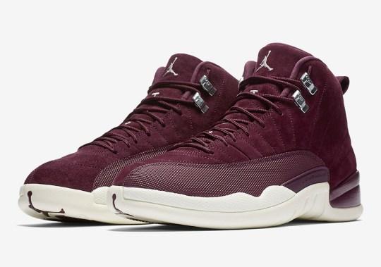 "Air Jordan 12 ""Bordeaux"" Releases Tomorrow"