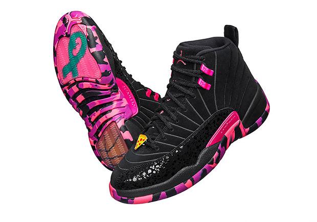 Air Jordan 12 Doernbecher Freestyle