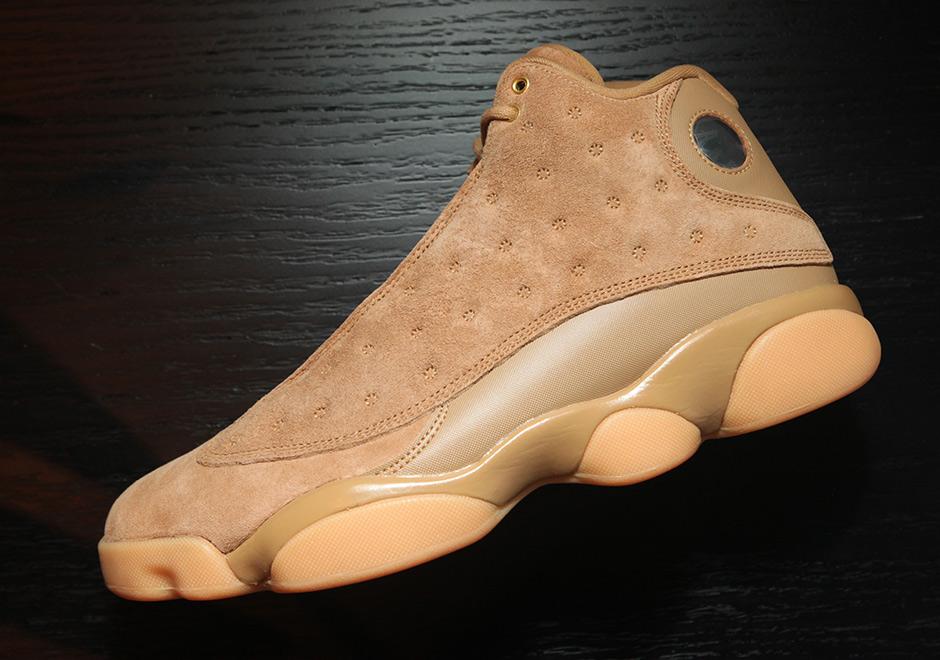 "83eded837b0b44 Advertisement. Air Jordan 13 ""Wheat"" Release Date  November ..."