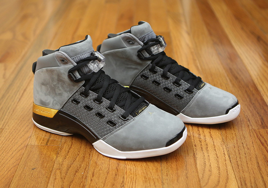best website 55352 6b4f9 air jordan retro 17 grey yellow Trophy Room x Air Jordan 17. Release Date  October 28th, 2017. Color Cool ...