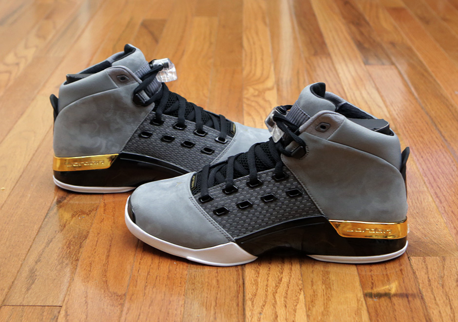 1362dd0573e Trophy Room x Air Jordan 17. Release Date: October 28th, 2017. Color: Cool  Grey/Metallic Gold-Black