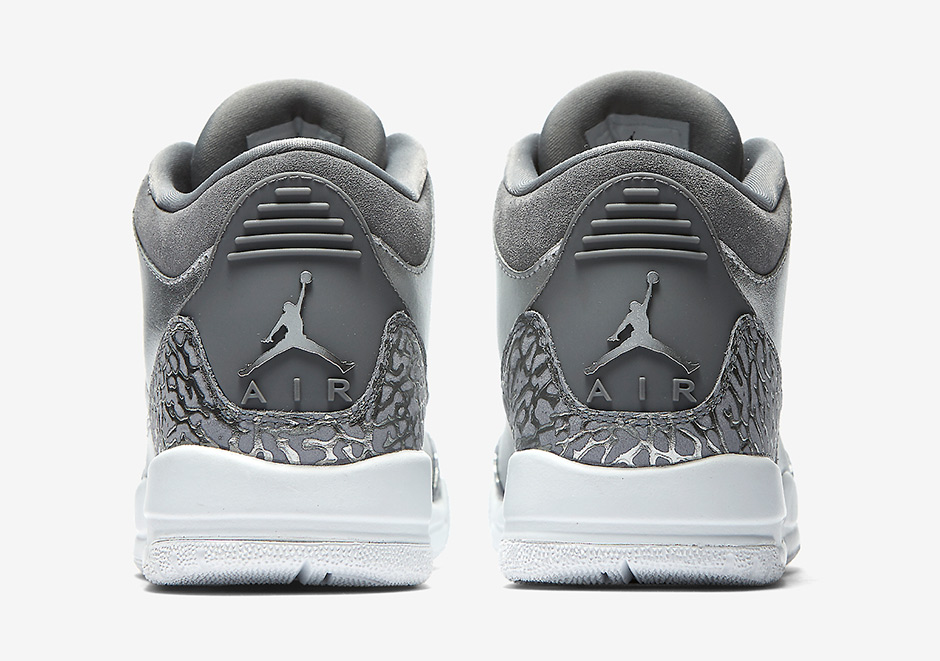 "723bba295659 Update  The Air Jordan 3 PRM HC GG ""Metallic Silver"" releases on November  4th"