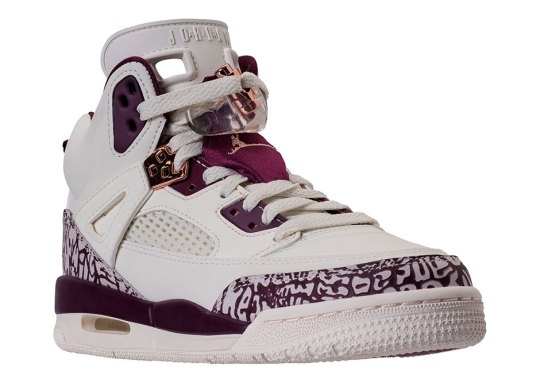Jordan Pairs Bordeaux With Rose Gold On Upcoming Spiz'ike Release