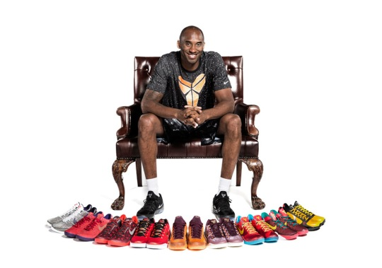 Kobe Bryant Has The Most Popular Basketball Shoe In The NBA