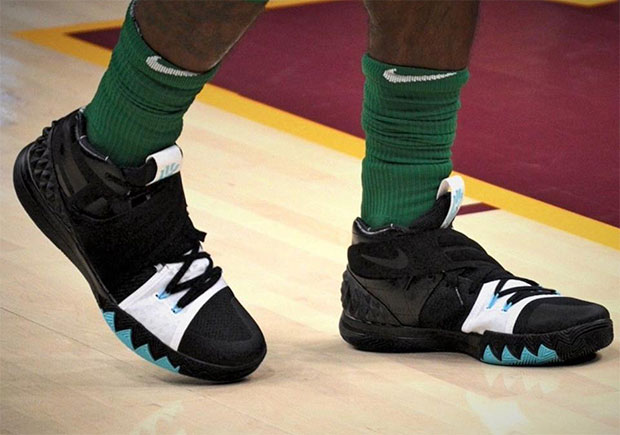 Kyrie Irving Starts Celtics Era With Incredible Nike Kyrie Signature Shoe Mash-Up