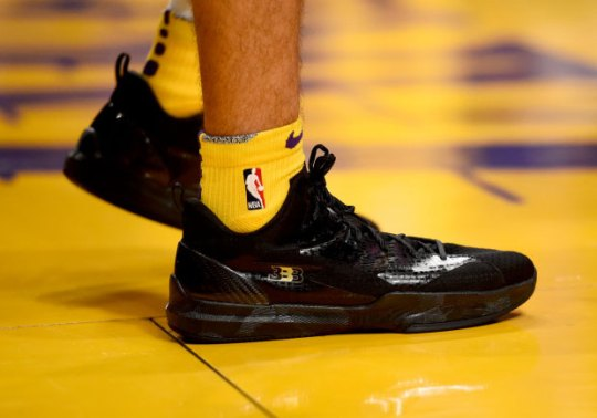 Lonzo Ball Makes NBA Debut In Big Baller Brand ZO2 Prime Signature Shoe