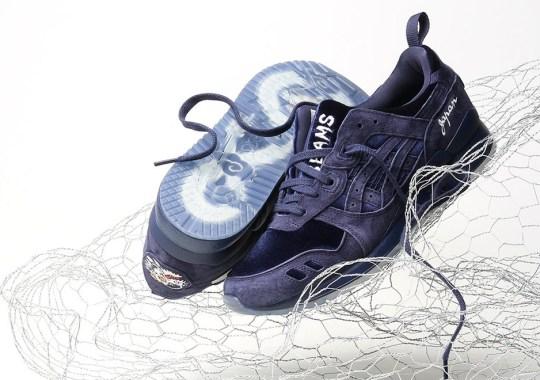 "The mita Sneakers x BEAMS x ASICS GEL-Lyte III ""Souvenir Jacket"" In Navy Releases Globally Tomorrow"