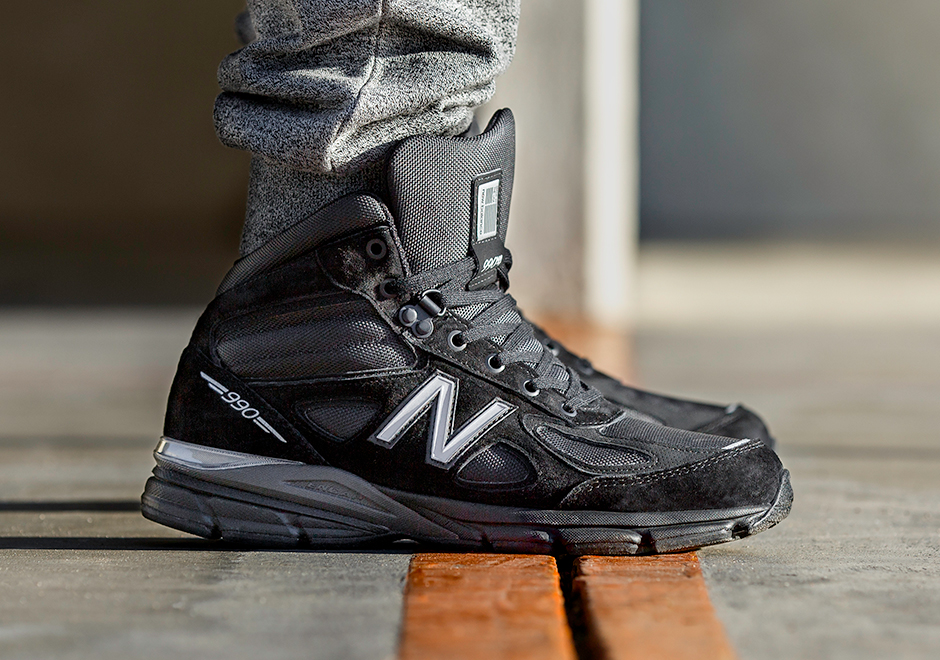 best service 74606 89fe0 New Balance 990v4 Mid Boot | SneakerNews.com