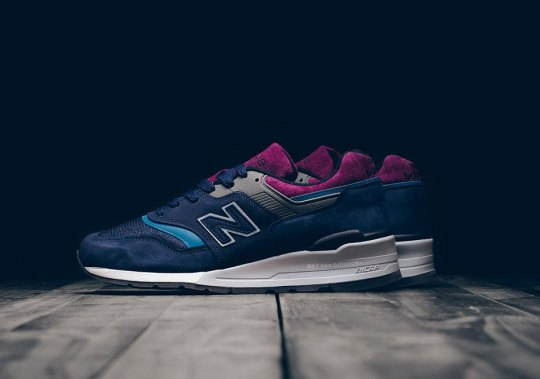 New Balance Pairs Navy And Maroon For Latest Made In USA 997
