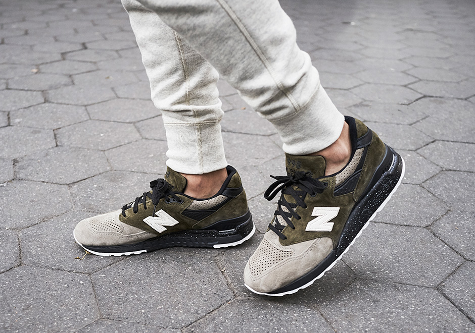 """quality design 42f0a a81e3 Todd Snyder and New Balance Create Limited Edition """"Dirty Martini"""" 998"""