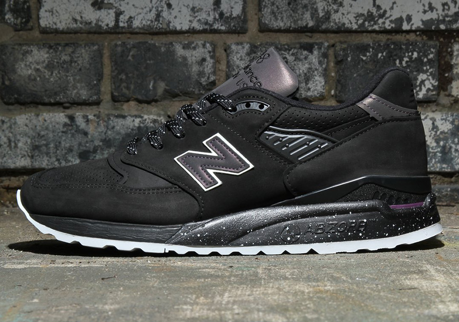super popular b5420 09ff4 New Balance Iridescent Black 998