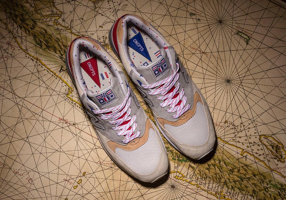 timeless design 94211 beabb Concepts New Balance 999 Hyannis Red Alternate   SneakerNews.com