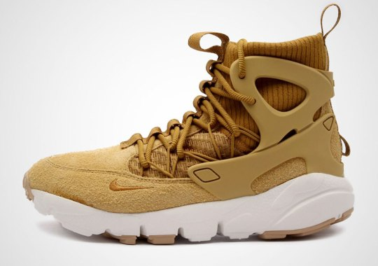 """Nike's New Footscape Mid Utility Grabs The """"Wheat"""" Suit"""
