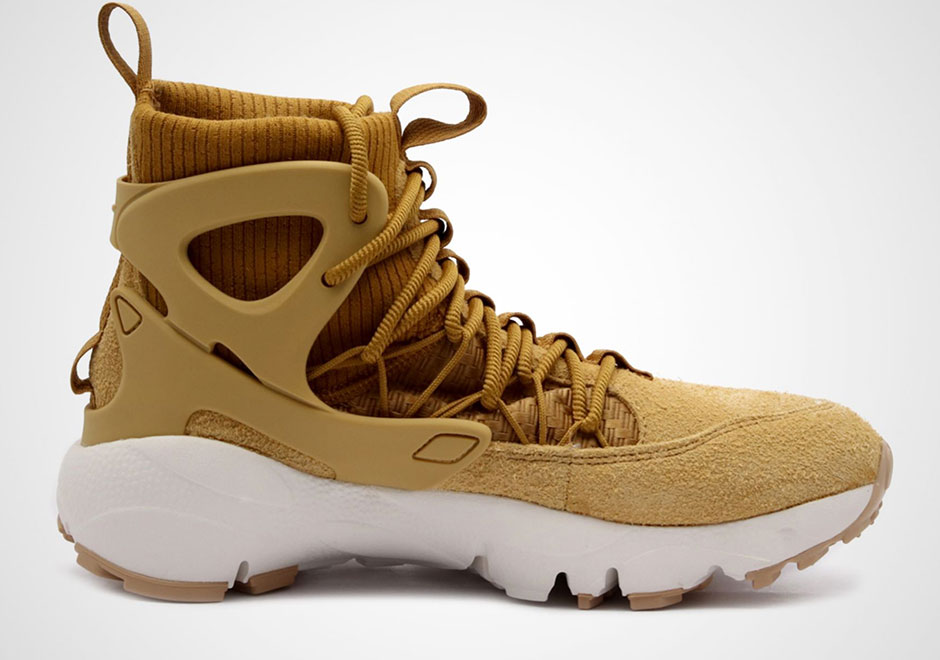 lowest price 2f894 31454 Nike Air Footscape Mid Utility Release Date  October 14th, 2017  140.  Color  WHEAT WHEAT-SUMMIT WHITE-GUM MED BROWN Style Code  AA0519-700