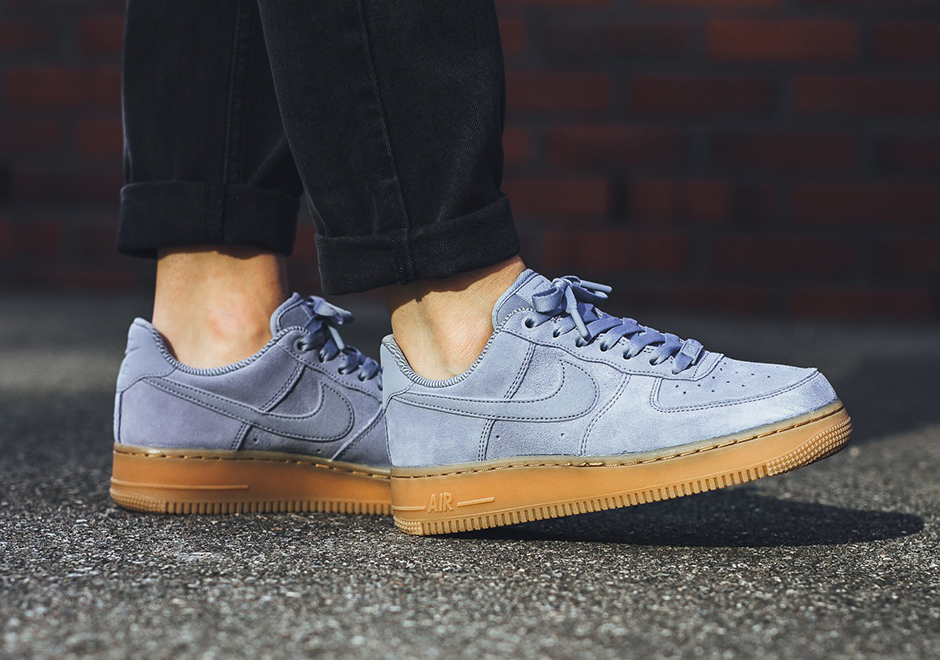 Nike Air Force 1 Low Womens Suede Gum Pack Fall 2017