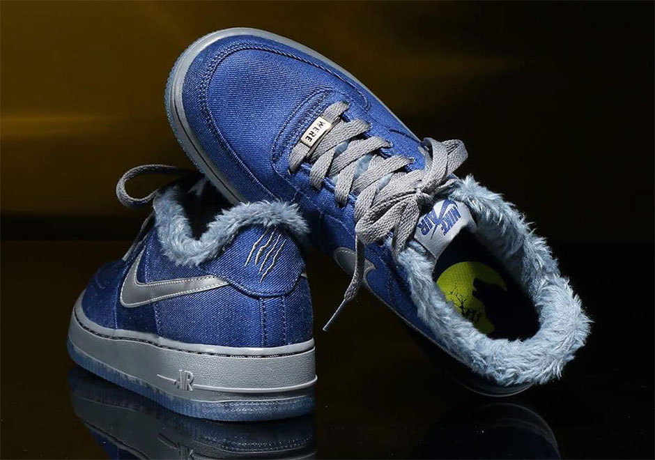 "Nike Adds The Air Force 1 Low ""Werewolf"" For Halloween"