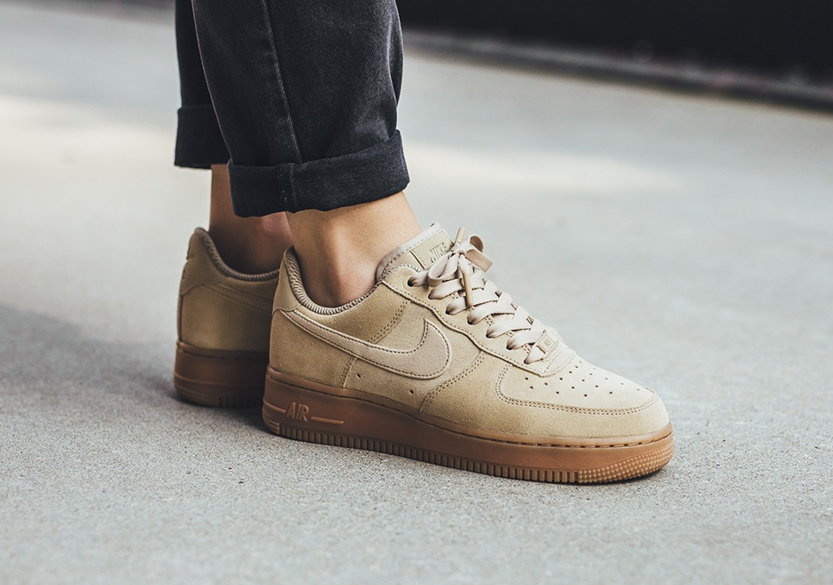 nike air force 1 low womens suede gum pack fall 2017. Black Bedroom Furniture Sets. Home Design Ideas