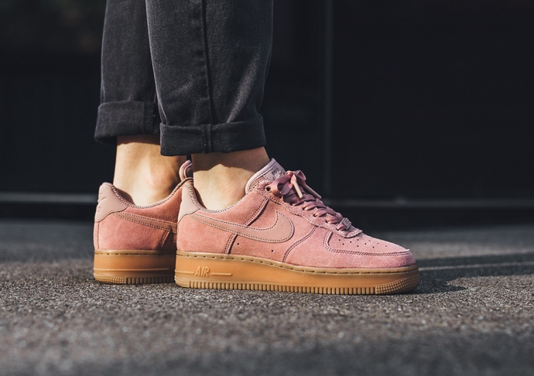 pretty nice caac1 92304 Nike Air Force 1 Low Womens Suede Gum Pack Fall 2017 ...