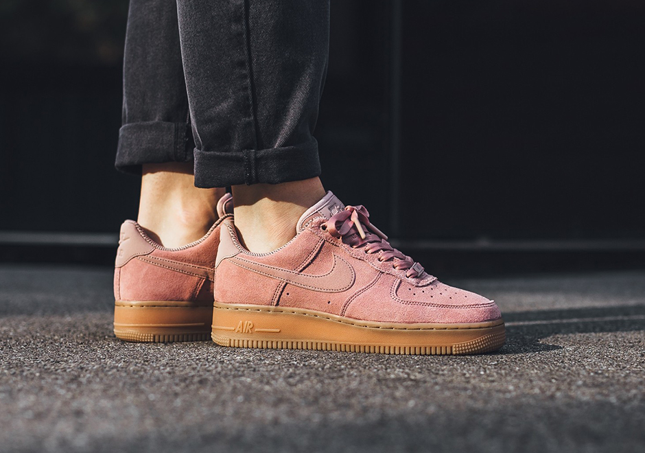 huge discount 5ff13 435d8 Nike Air Force 1 Low Womens Suede Gum Pack Fall 2017   SneakerNews.com